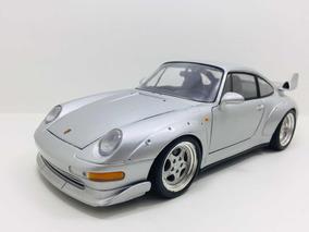 Miniatura Porsche 911 Séries Prata Ut 1/18