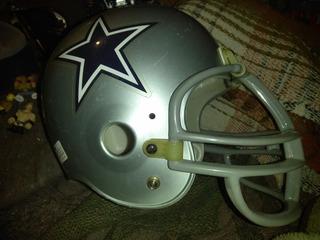Casco Cowboys Riddell Mediano.