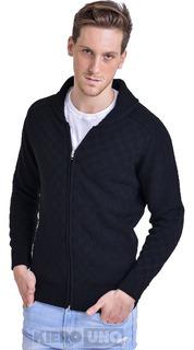 Campera De Lana Sweater Hombre Saco Pullover Cierre Kierouno