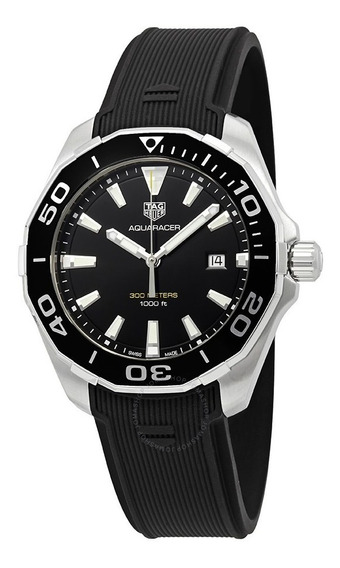 Relogio Tag Heuer Quarts Aquaracer Blk Way101a.ft6141