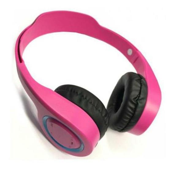 Fone De Ouvido Bluetooth Rosa