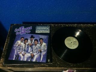 Lp Vinyl Los Tigres Del Norte.- Triunfo Solido