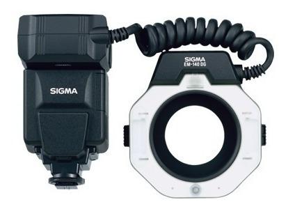 Flash Macro Para Sony Sigma Em-140 Dg Macro Ringlight