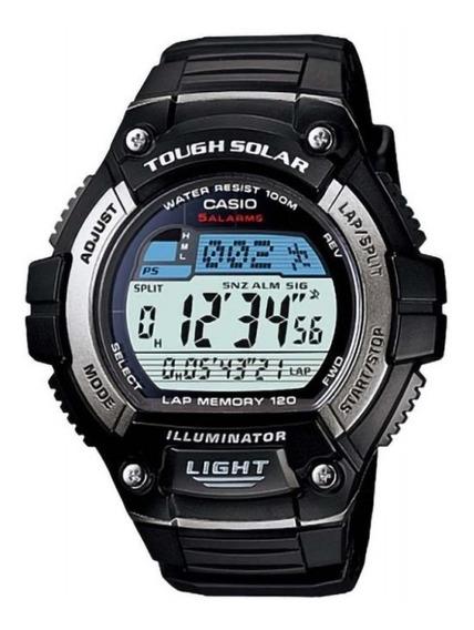 Relógio Casio Masculino Tough Solar Preto W-s220-1avdf
