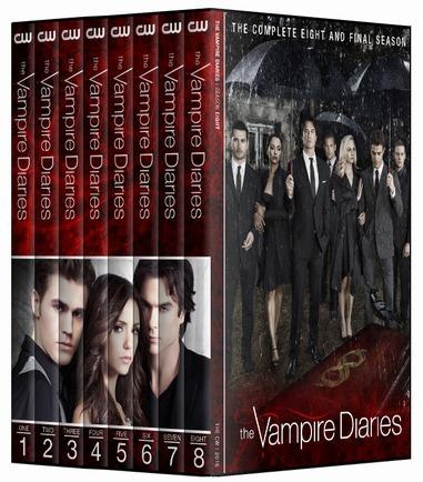 Diários De Um Vampiro - 1° A 8° Temporada Em Dvd [ Dublado ]