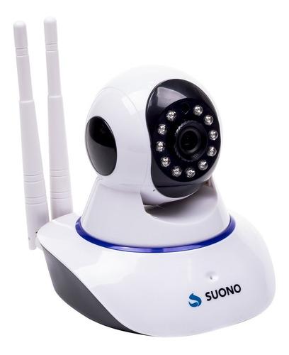 Camara Seguridad Ip Wifi Inalambrica Motorizad P2p Hd 360° Panoramica Movimiento Desde El Celular