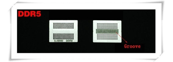 1 Stencil Bga Reballing Para Memoria Ddr5