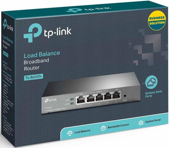 Router Tp-link Balanceador De Banda Ancha Tlr470t 4 Puertos