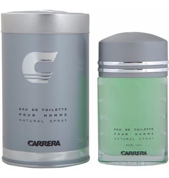 Perfume Carrera 100ml Lata Eau De Toilette + Brinde
