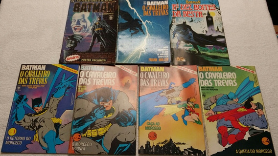 Hq 11 Edicoes Batman Cavaleiro Trevas Messias Dc Comic Gibi
