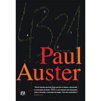 Livros 4 3 2 1 Paul Auster Literatura Americana Frete Grátis
