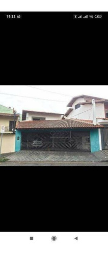 Sobrado Com 3 Dorms 1 Súite 258 M²  R$ 980.000 - Vila Pires - Santo André/sp - So2261