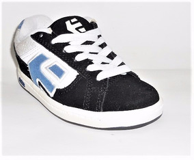Tenis Etnies Kids Locke Black/white/royal Skate