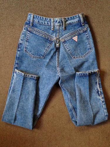 Pantalones Guess Dama Originales Made In Usa Talla I 27 Mercado Libre