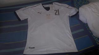 Camiseta Italia Blanca Pirlo 2017