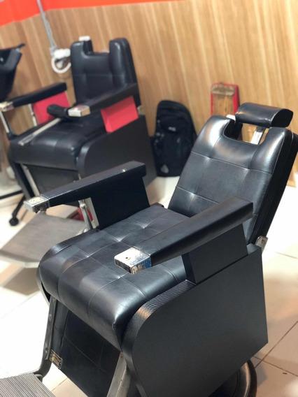2 Cadeiras De Barbeiro Ferrante Anos 70 Pronta Entrega