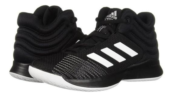 Tenis adidas Pro Spark 2018 K Shoes 100% Originales Negro