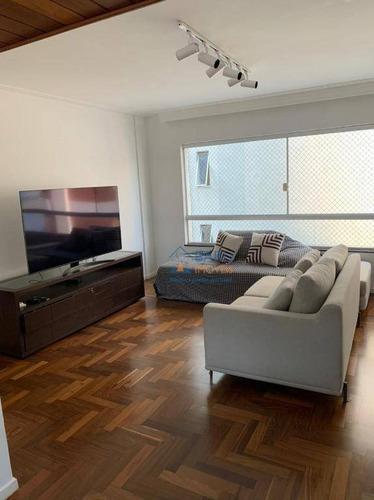 Imagem 1 de 8 de Apartamento Com 3 Dormitórios À Venda, 110 M² Por R$ 1.300.000,00 - Higienópolis - São Paulo/sp - Ap2212