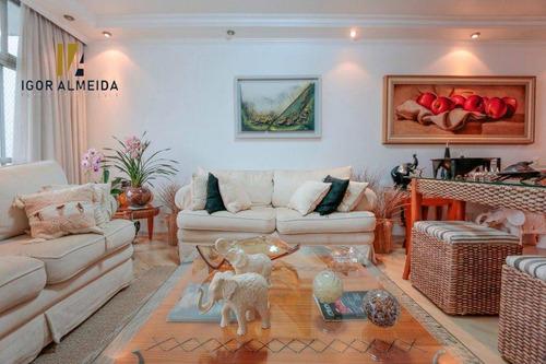 Apartamento Com 3 Dormitórios À Venda, 200 M² Por R$ 1.700.000,00 - Santa Cecília - São Paulo/sp - Ap21273