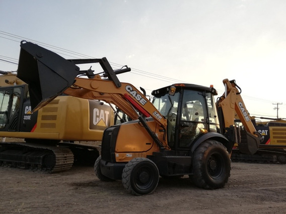 Retroexcavadora Case 580 Super N 4x4, Ext, 2011