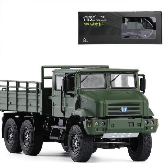 Vehiculo Militar Camion Faw Mv3 1:36 Escala