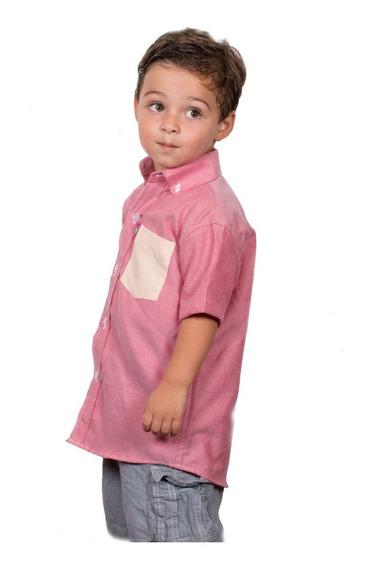 Camisas Manga Corta Para Niños Animal Tropikal Tropikidz