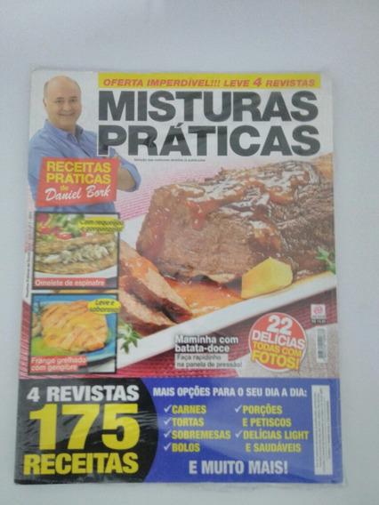 3 Revistas Culinária,(receitas Práticas De Daniel Bork).