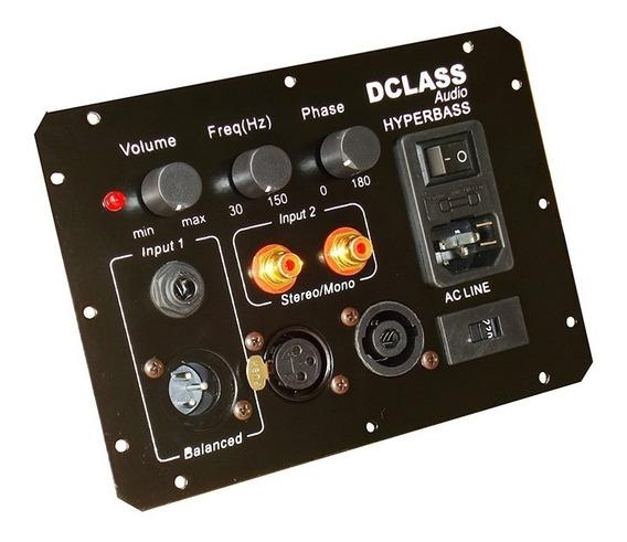 Amplifcador Dclass Ativação Caixa Subwoofers 500 Watts Reais