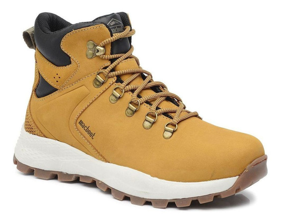 Bota Adventure Cano Alto Macboot Imeri 02 Mostarda