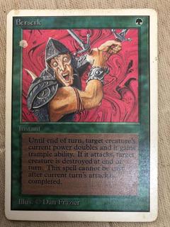 Card Magic The Gathering Berserk