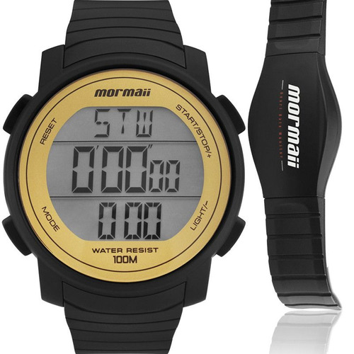 Relógio Mormaii Masculino Monitor Cardíaco Mo11560aa/8d
