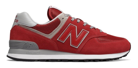 new balance hombre rojas 420