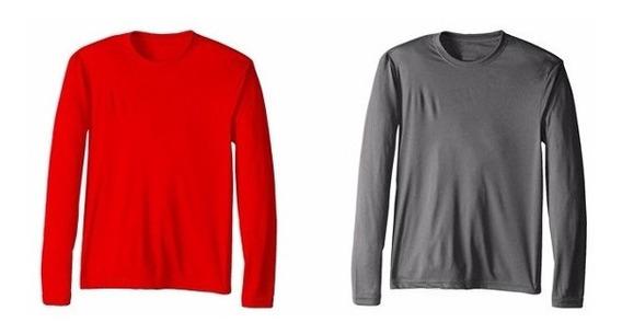 Kit 5 Camisa Uv Camiseta Blusa Proteção Solar Frio