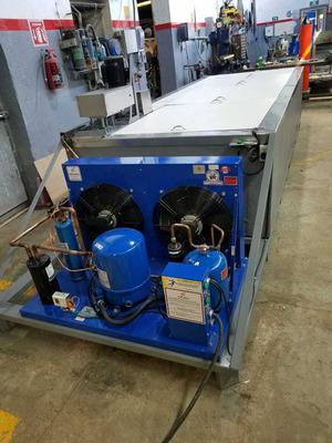 Maquina Fabricadora De 40 Barras De Hielo 25 Kilo Cada Uno.