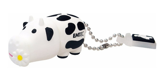 Pen Drive Flash Drive Emtec Videolar Farm Cow Vaca 4gb