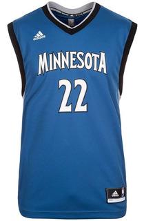 Camisa Regata adidas Nba Minnesota Timberwolves Original+ Nf