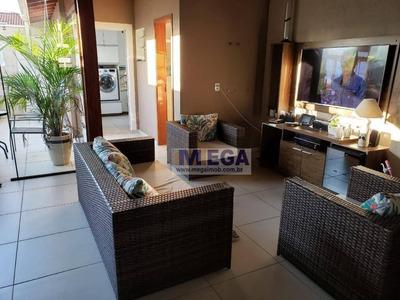 Casa Com 3 Dormitórios À Venda, 120 M² Por R$ 525.000 - Parque Jambeiro - Campinas/sp - Ca0996