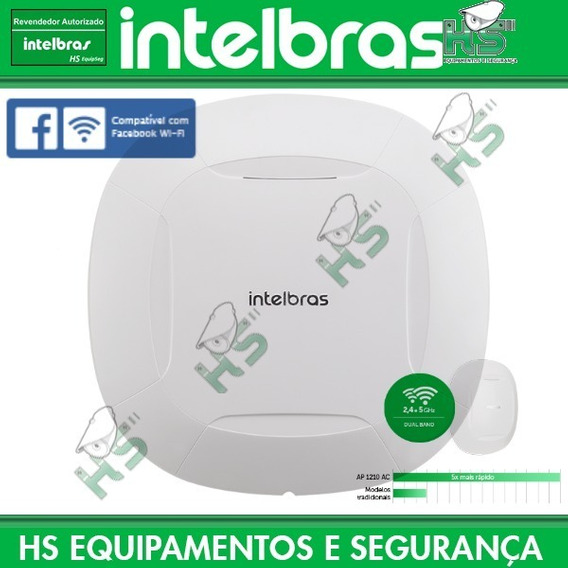 Roteador Access Point Ap1210 Ac Mbps Check-in Intelbras Poe