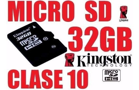 Cartao De Memoria 32 Gb Kington + Brinde