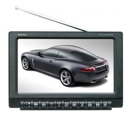 Tv Digital Portatil 7 Pol Carro Motorhome Caminhão 12 Volt