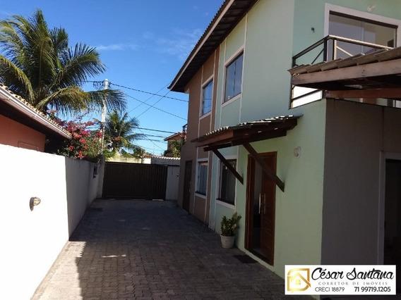 Casa 3 Suítes Praia De Ipitanga - Ca00305 - 32753575