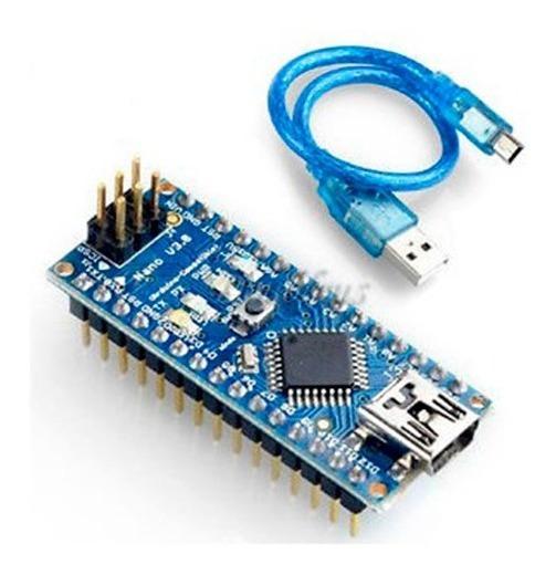 Arduino Nano V3.0 Atmega328p Armado + Cable Usb