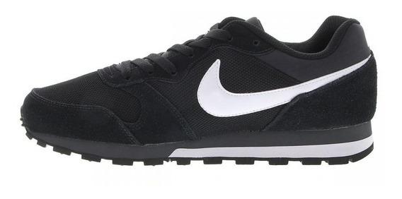 Tênis Nike Md Runner 2 Preto Camurça Cores Original!