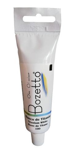 Oleo Bozetto 50 Ml Blanco De Titanio