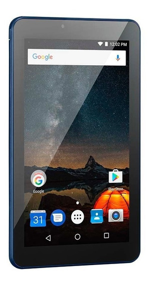 Tablet Multilaser M7s Plus 1gb 8gb Tela 7 Pol Azul Nb274
