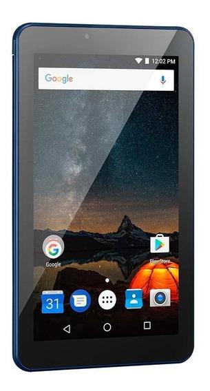 Tablet Multilaser M7s Plus 1gb 8gb Tela 7 Pol Azul Nb274