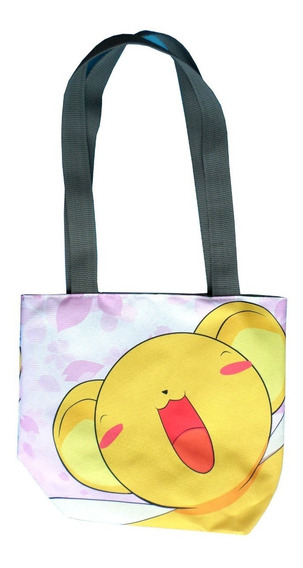 Mini Tote Bag Cartera De Anime Card Captor Sakura Kero Clamp