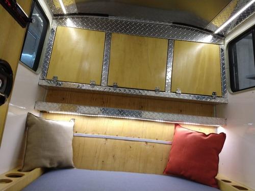 Mini Casa Rodante Aconcagua 200 Dm Trailers Homologada Lcm