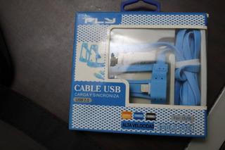 Cable Usb Para iPhone, Carga Y Sincroniza