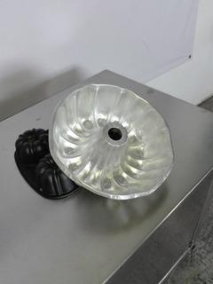 Molde De Aluminio Gelatina Rosca Repostería